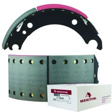 Meritor-Euclid MG2 Lined Brake Shoe  - BPW brake 95 - 420 x 180mm. Comes with Hardware