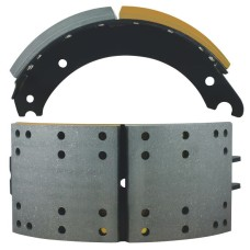 "NA42 Lined Brake Shoe - Q Plus - 16.5"" x 7"""