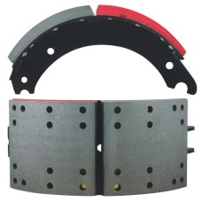 "FRAS-LE AF557 Lined Brake Shoe - Q Plus - 16.5"" x 7"""