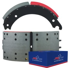 "FRAS-LE AF557 Lined Brake Shoe - Q Plus - 16.5"" x 7"". Comes with Hardware"
