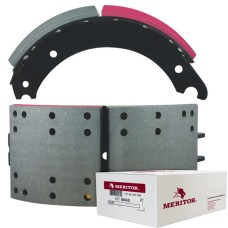 "Meritor-Euclid MG2 Lined Brake Shoe - Q Plus - 16.5"" x 7"". Comes with Hardware"