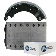 "BPW Lined Brake Shoe - BPW Brake 95 - 19.5"". Comes with Hardware"