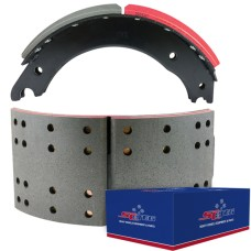 "FRAS-LE AF557 Lined Brake Shoe - Fruehauf XEM - 16.5"" x 7"". Comes with Hardware"