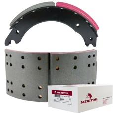 "Meritor-Euclid MG2 Lined Brake Shoe - Fruehauf XEM - 16.5"" x 7"". Comes with Hardware"