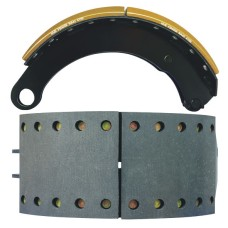 NA42 Lined Brake Shoe - SAF Shoe with Rollers - 420 x 180mm