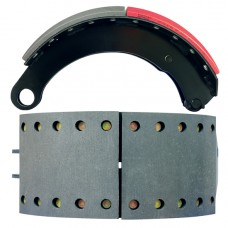 FRAS-LE AF557 Lined Brake Shoe - SAF Shoe with Rollers - 420 x 180mm