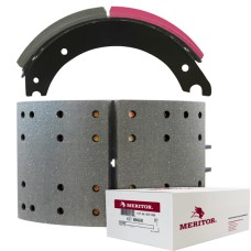 Meritor-Euclid MG2 Lined Brake Shoe - Hendrickson Shoes - 420 x 219mm. Comes with Hardware