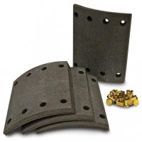 Brake Lining Set (Genuine Bendix)  - BC36/1 EE
