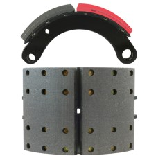 "FRAS-LE AF557 Lined Brake Shoe - General Purpose - 12.25"" x 7.5"""