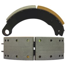 "NA42 Lined Brake Shoe - Eaton ""P"" type 1308 - 15"" x 4"""