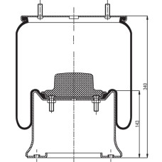 Air Spring Assembly - HAS / Trailer
