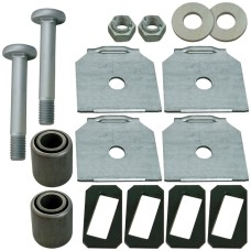 M24 Spring Eye Bush Repair Kit (Alignable / Parallel Hangers) - BPW