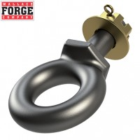 25t Bolt On Swivel Tow Ring, 0-51-B - Wallace Forge