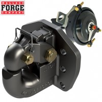 50t Rigid Pintle Hook (R50), 6 Bolt Pattern, ADR Approved with Air Chamber - Wallace Forge