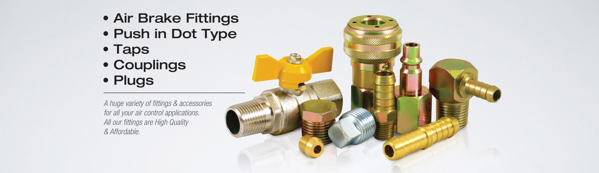 Brass Air Brake Fittings