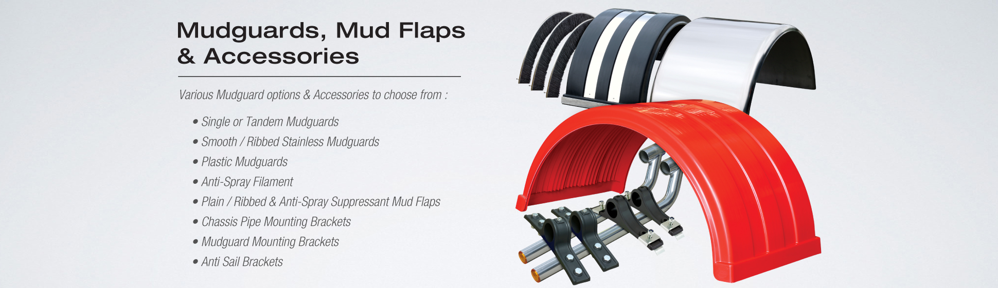 Mudguards Mudflaps Accessories