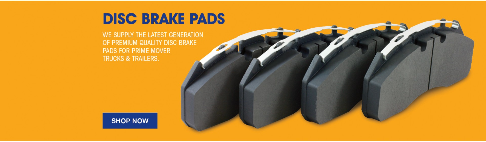 Truck Disk Brake Pads