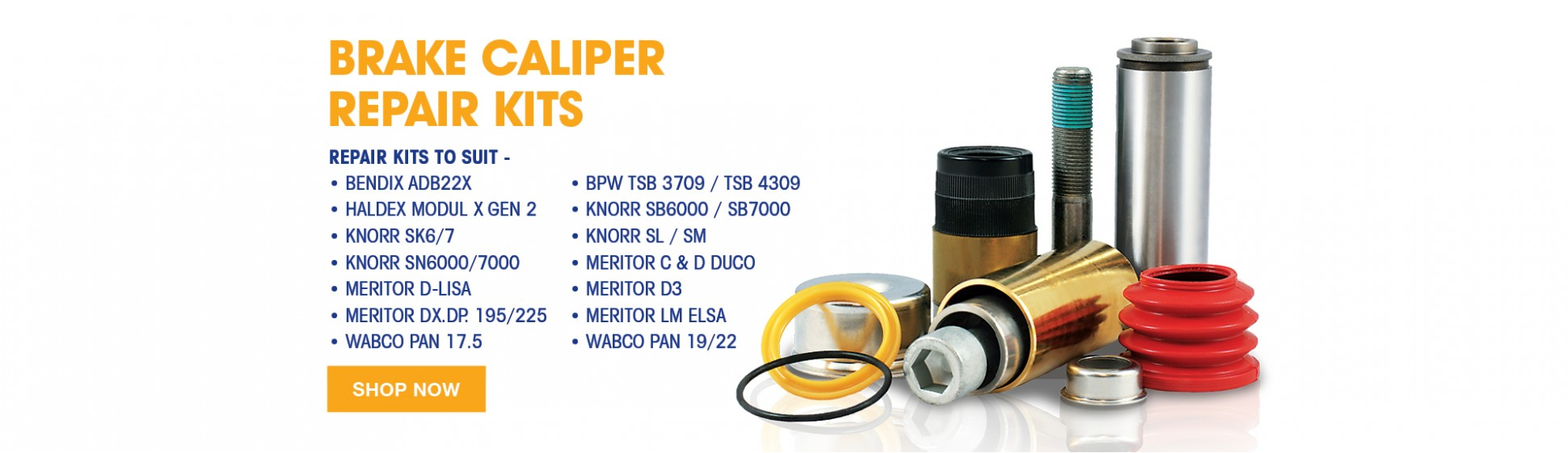 Truck Trailer Brake Caliper Repair Kits