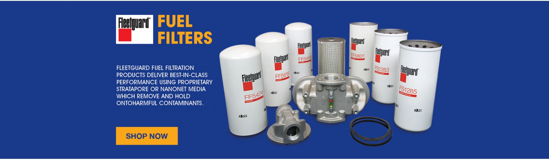 Fleetguard Truck Fuel Filters