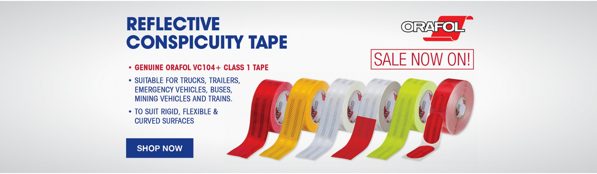 ORALITE REFLECTIVE CONSPICUITY TAPE CLASS 1