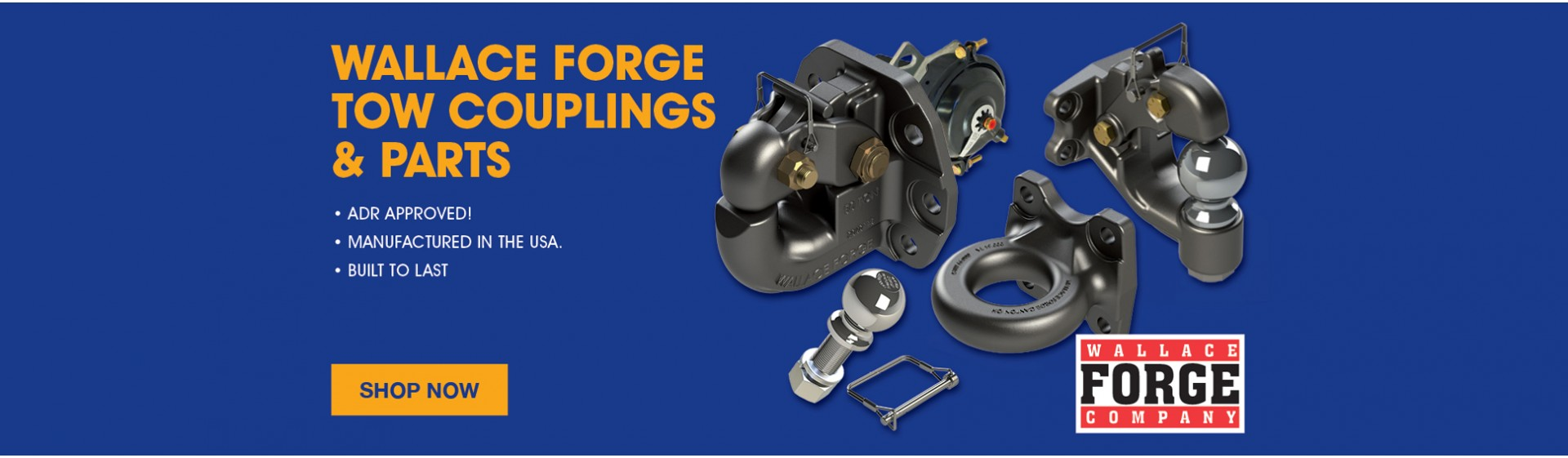Wallace Forge Tow Couplings