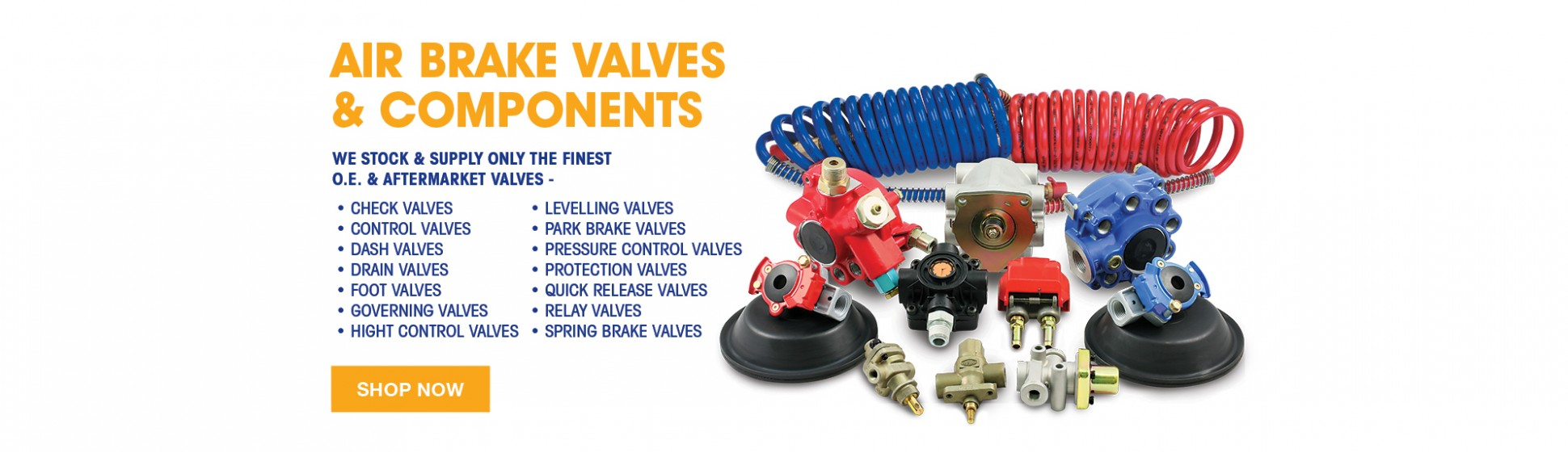 Trailer Air Brake Valves Components