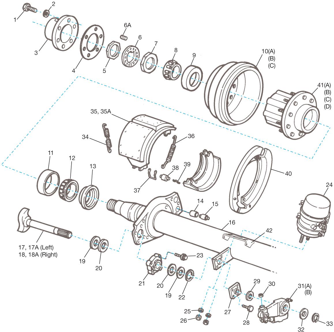 Meritor Cs9 Q Amp Q Plus 16 5 X 7 Brake