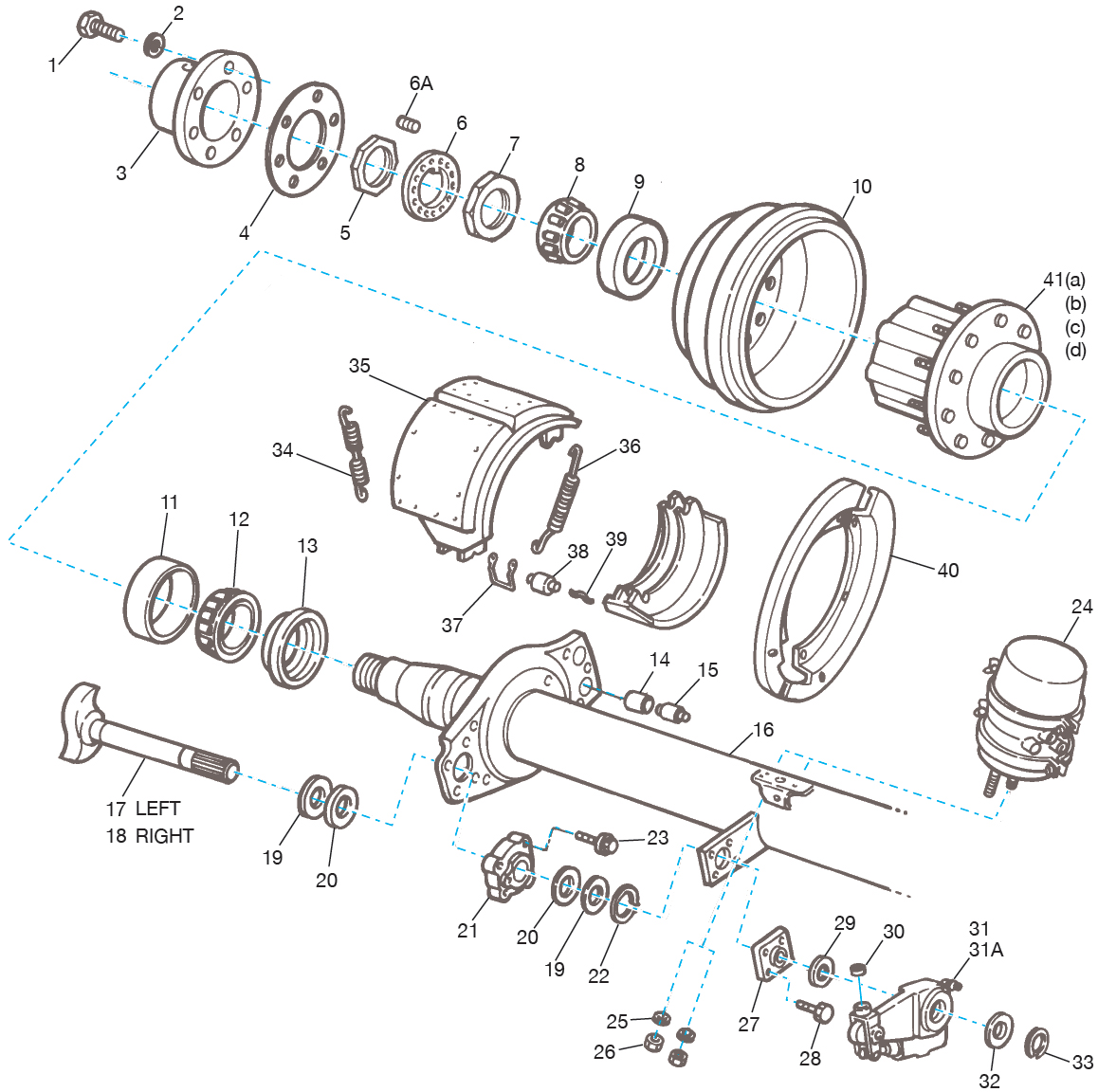 Meritor Axle Parts Catalog : Meritor q brake